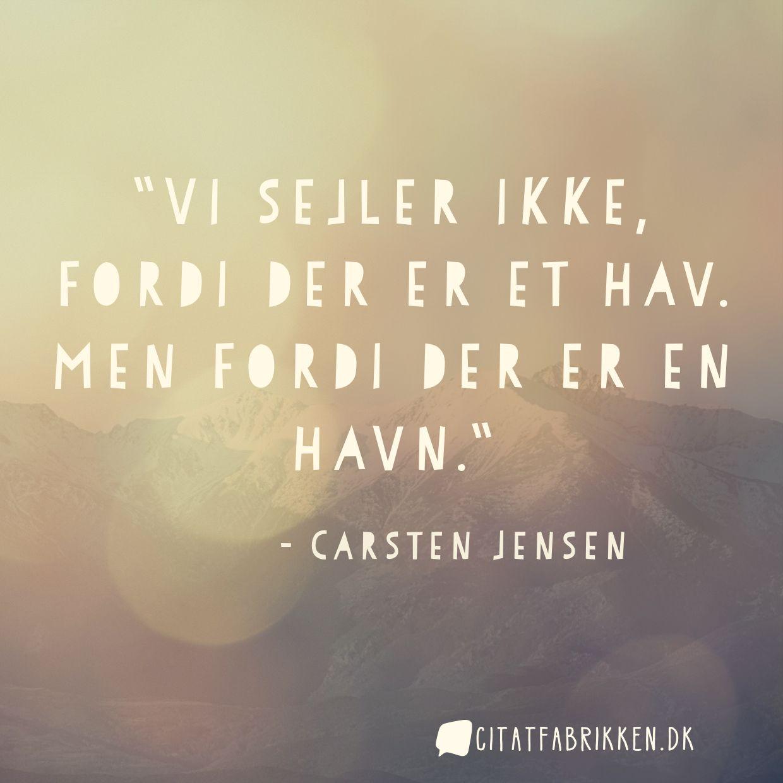 citater om havet Citat | Carsten Jensen citater om havet