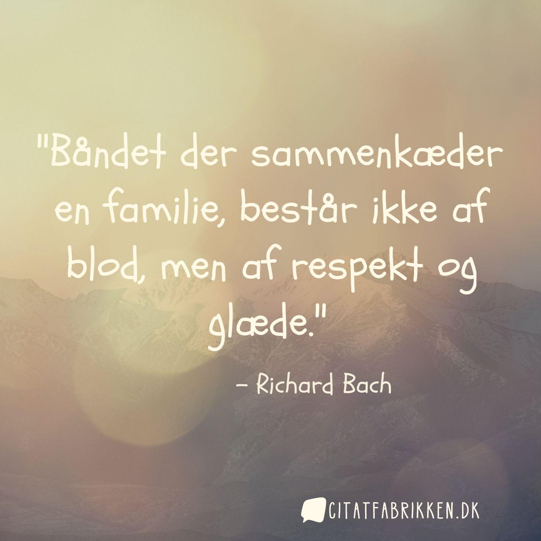 citat om familie Citat | Richard Bach citat om familie