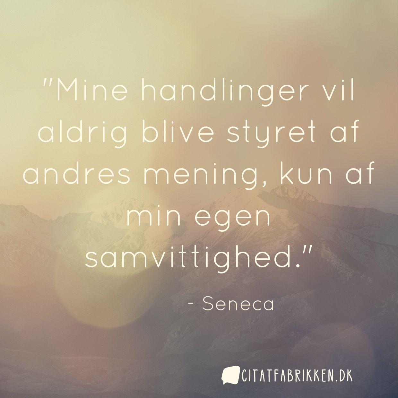 citater med mening Citat | Seneca citater med mening