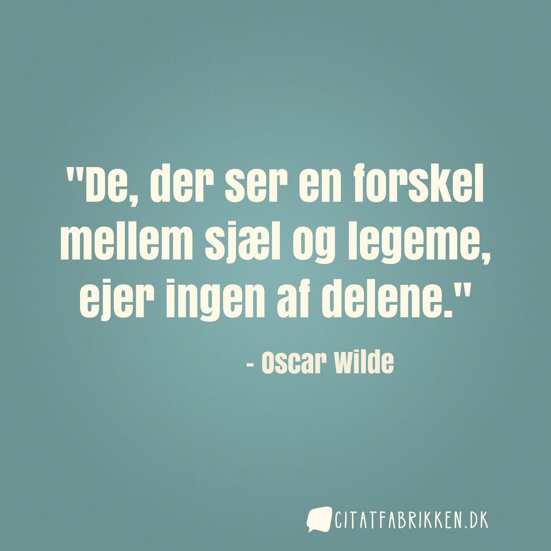 citater af oscar wilde Citat | Oscar Wilde citater af oscar wilde