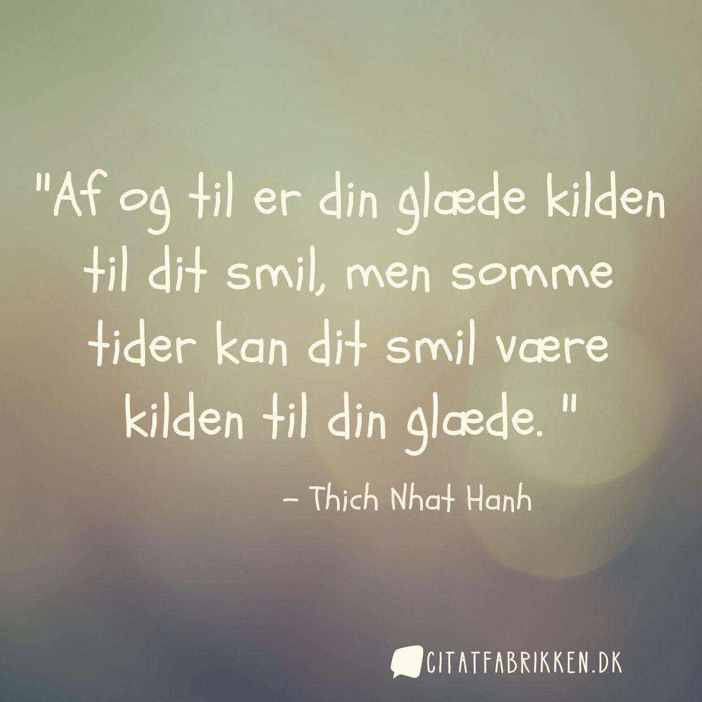 citater om smil og glæde Citat | Thich Nhat Hanh citater om smil og glæde