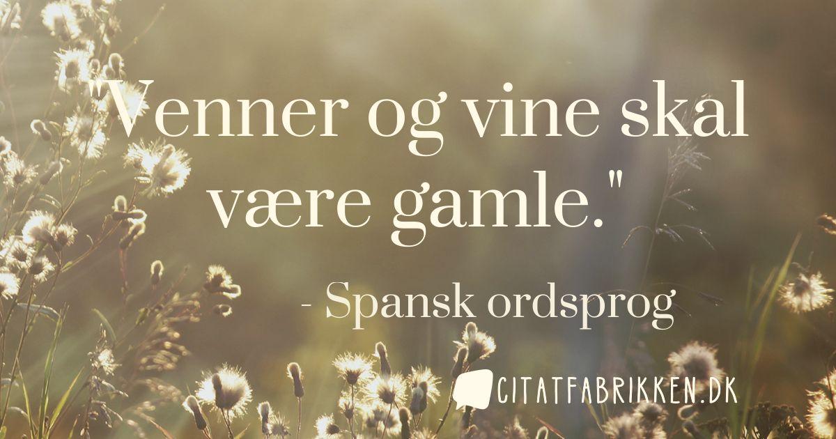spansk ordsprog