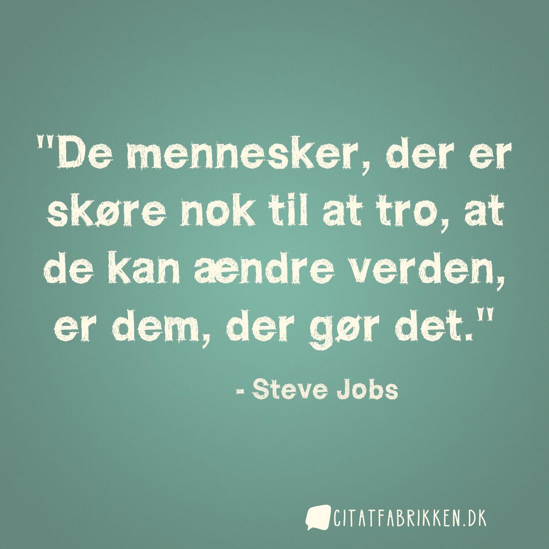 citater om tro Citat | Steve Jobs citater om tro