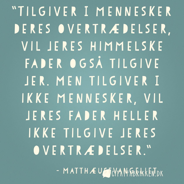 citater om tilgivelse