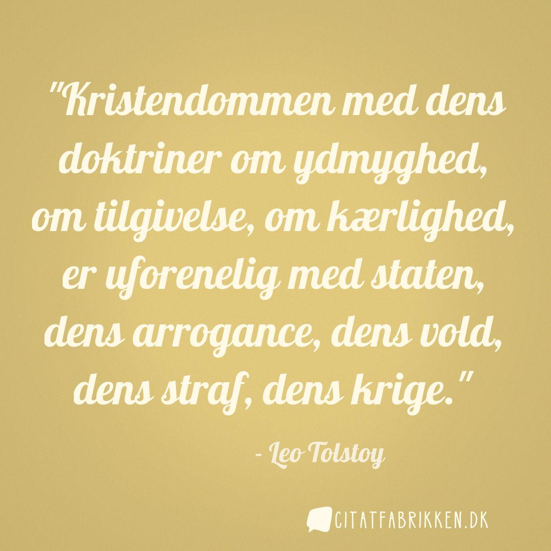 citater om vold Citat | Leo Tolstoy citater om vold