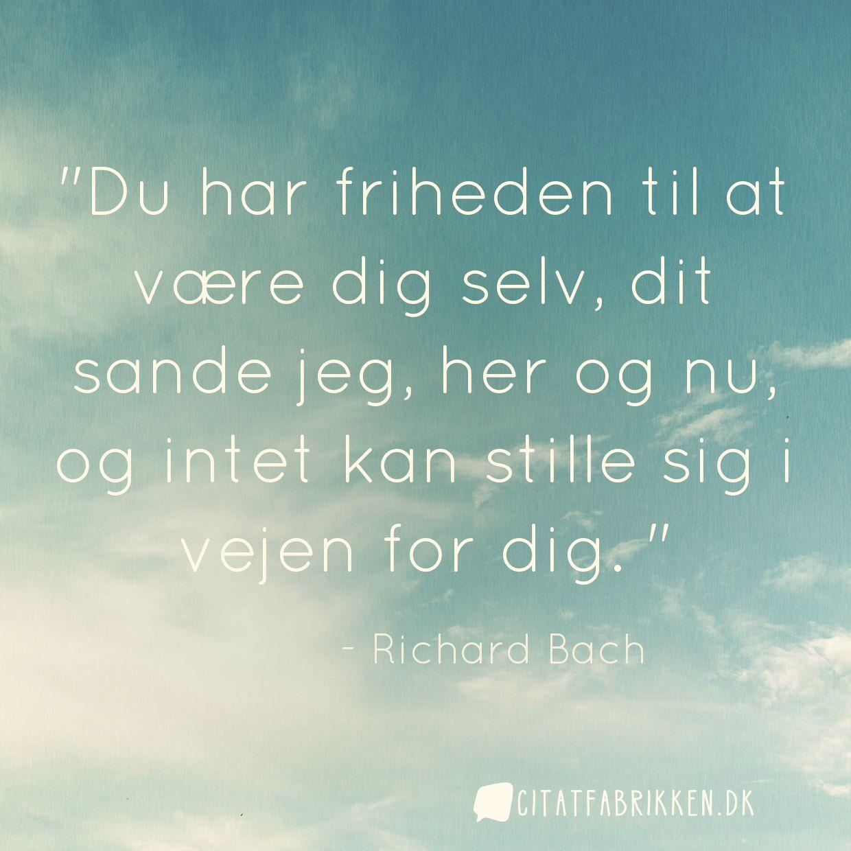 citater om dig selv Citat | Richard Bach citater om dig selv