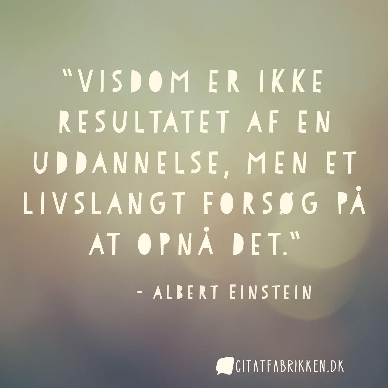 citater om uddannelse Citat | Albert Einstein citater om uddannelse