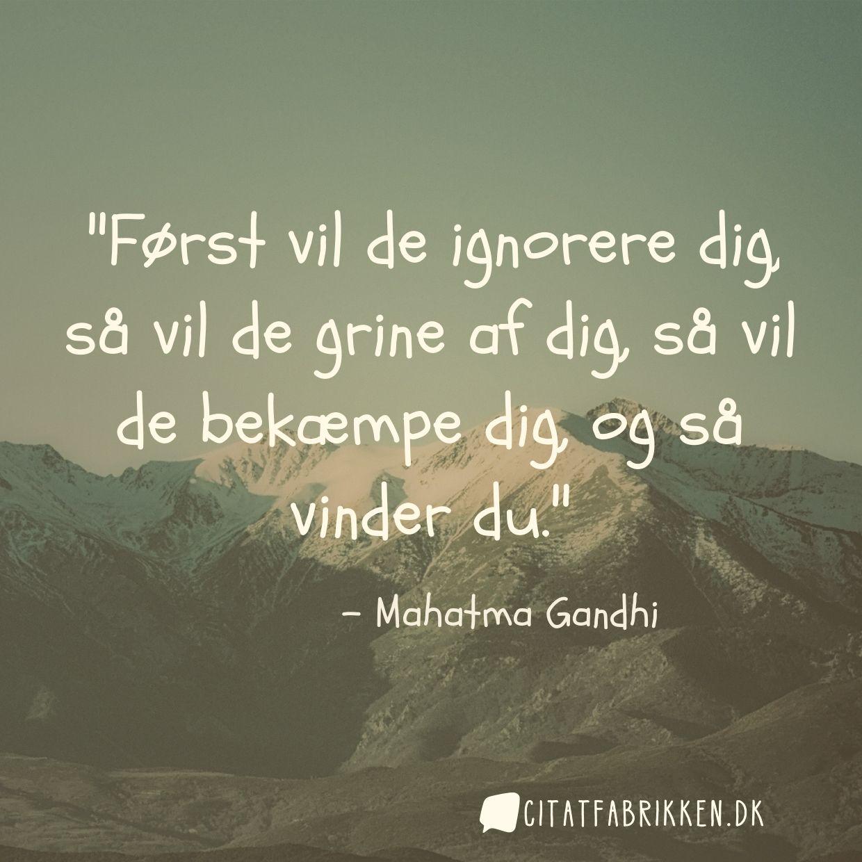 citater af gandhi Citat | Mahatma Gandhi citater af gandhi