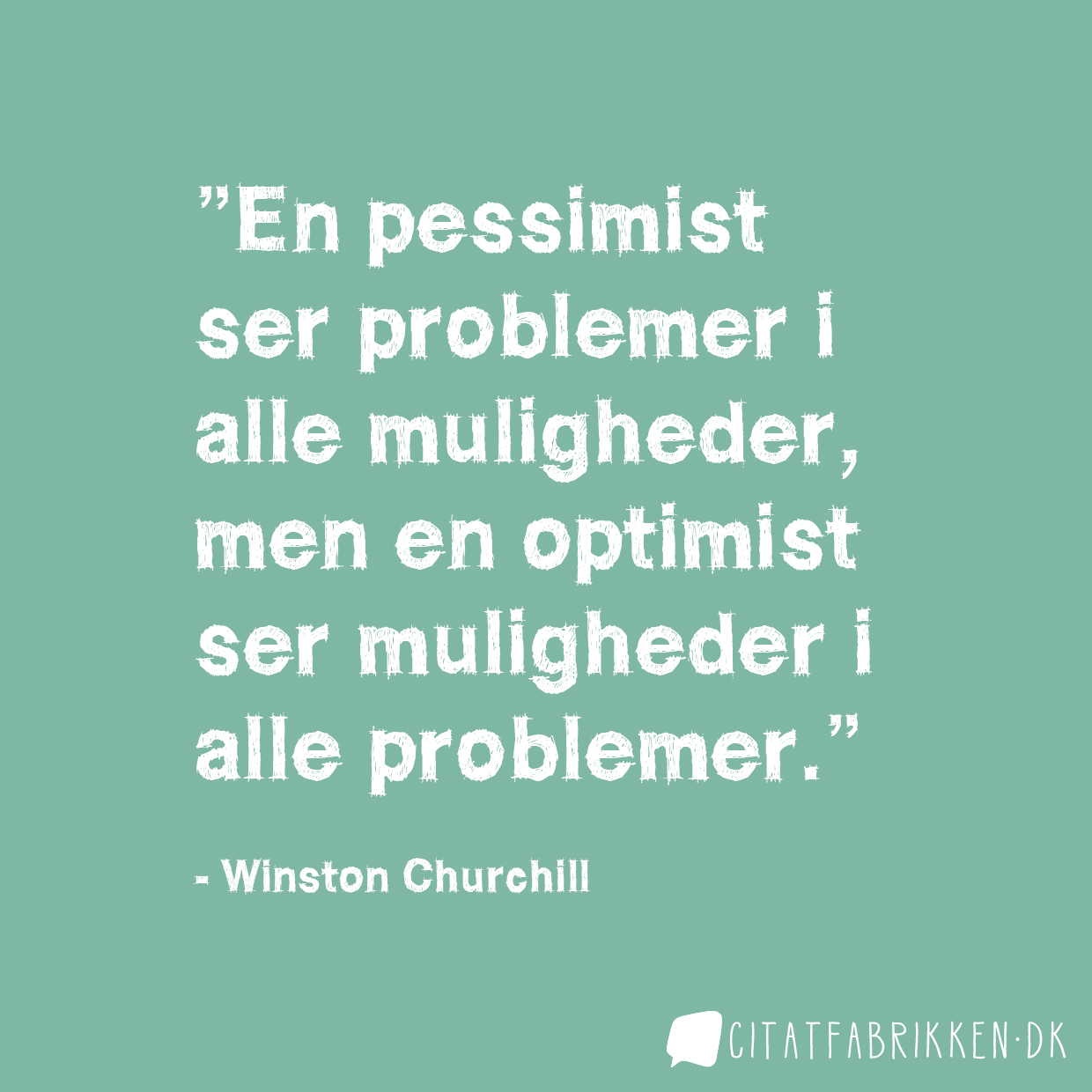 Winston Churchill citat om motivation