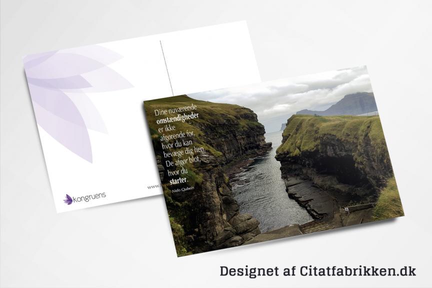 Postkort fra Citatfabrikken